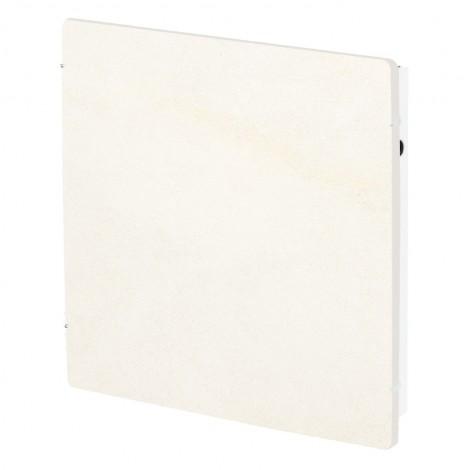 Elektromos kerámia hőtárolós fűtőpanel - Climastar Smart Touch fehér mészkő 800 W