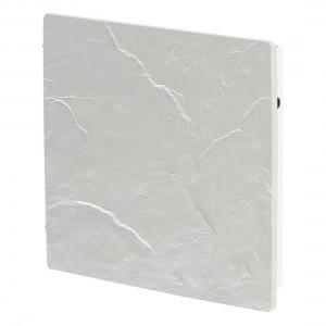 Elektromos kerámia hőtárolós fűtőpanel - Climastar Smart Touch fehér pala 1000 W
