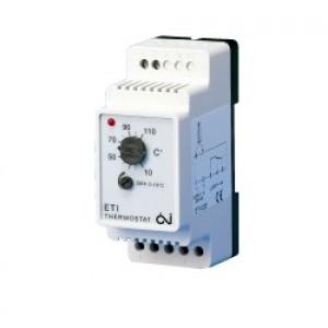 Termosztát - Comfort Heat ETI-1221 szenzor nélkül, 16A, szerelősínre